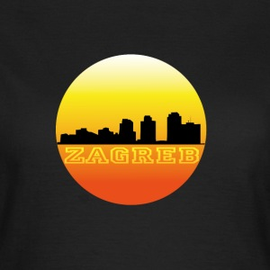 Zagreb by sunset T-Shirts - Vrouwen T-shirt