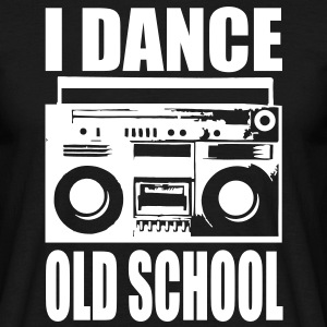 i dance old school T-Shirts - Männer T-Shirt