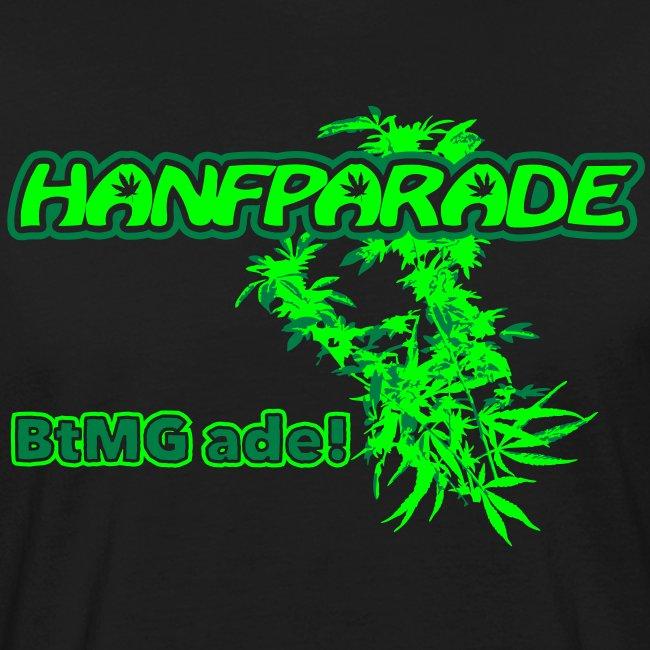 Hanfparade 2011 - BIO Männer-T-Shirt
