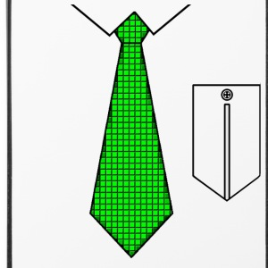 Green tie with pocket Other - iPhone 4/4s Hard Case