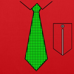 Green tie with pocket Tasker - Mulepose