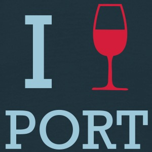 I Love Port T-Shirts - Men's T-Shirt