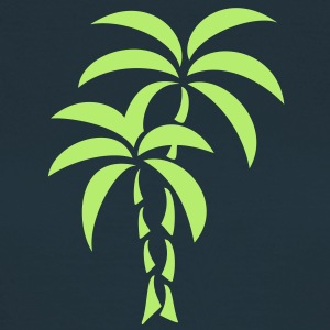 Palm Tree / Tattoo Style / Vector / T-Shirts - Women's T-Shirt