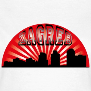 Zagreb Skyline T-Shirts - Frauen T-Shirt