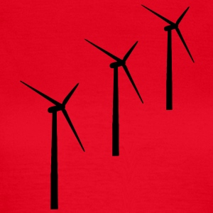 3 wind turbines wind energy T-Shirts - Women's T-Shirt