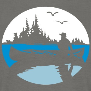 Canoe Kayak Canada Fishing Outdoor 5 tshirt  T-Shirts - Men's T-Shirt