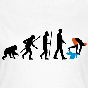 evolution_schwimmer_102012_a_3c T-Shirts - Frauen T-Shirt