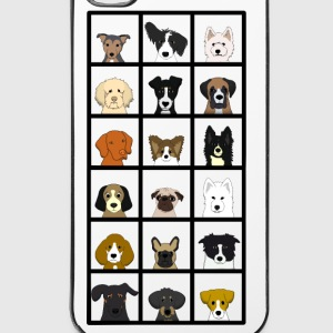 18_hundekoepfe Sonstige - iPhone 4/4s Hard Case