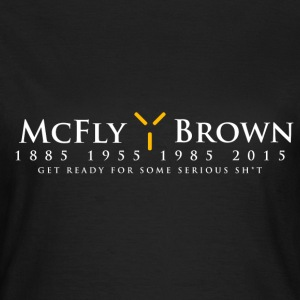 McFly / Brown  Election Design T-Shirts - Women's T-Shirt