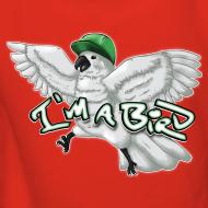 Design ~ I'M A BIRD Hoodie (Back) (Women)