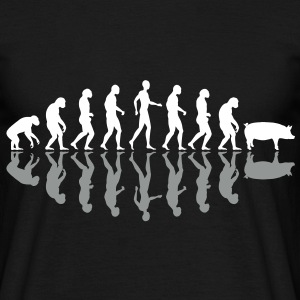 Evolution of humanity 5 T-Shirts - Men's T-Shirt