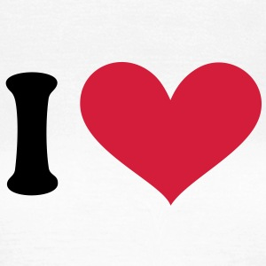I love, I heart. . T-shirts - Vrouwen T-shirt