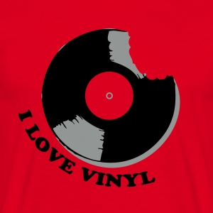Vinyl DJ Music - Men's T-Shirt