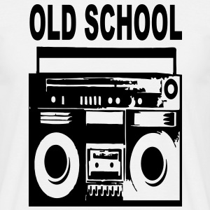 old school - Männer T-Shirt