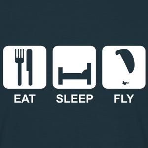 eat sleep fly 2 - Männer T-Shirt