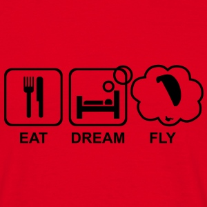 eat dream fly 1 - Männer T-Shirt