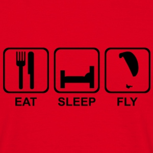 eat sleep fly 1 - Männer T-Shirt