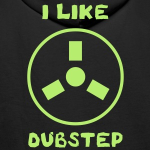 SWEATCAP - I LIKE DUBSTEP 003 - Sweat-shirt à capuche Premium pour hommes