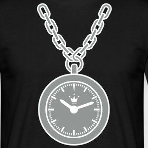 clock chain T-Shirts - Men's T-Shirt