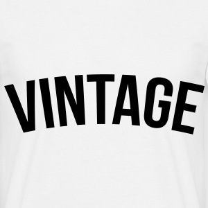 vintage old school  Tee shirts - T-shirt Homme