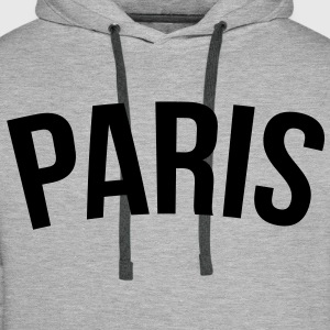 paris vintage Sweat-shirts - Sweat-shirt à capuche Premium pour hommes
