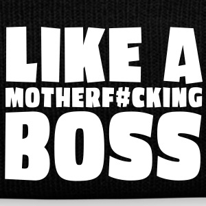 like a motherfcking boss 1c / like a boss Caps & Hats - Winter Hat