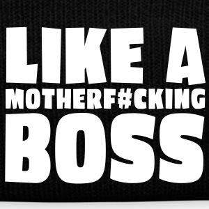 like a motherfcking boss 1c / like a boss Caps & Mützen - Wintermütze