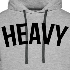 heavy Sweat-shirts - Sweat-shirt à capuche Premium pour hommes
