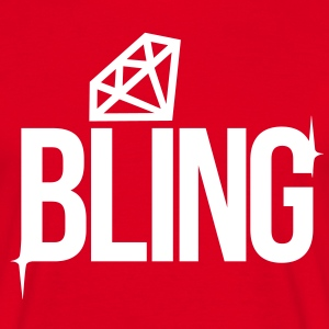 Bling T-shirts - Mannen T-shirt