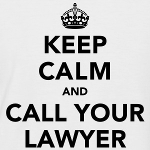 Keep Calm And Call Your Lawyer  - Men's Baseball T-Shirt