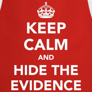 Keep Calm and Hide The Evidence  Aprons - Cooking Apron