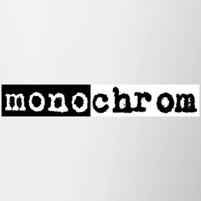 monochrom - die Tasse