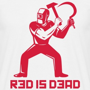 Red is Dead Tee shirts - T-shirt Homme