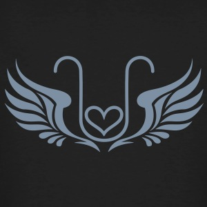 Kryon Crystal Elexier - UNCONDITIONAL LOVE /wings/ Tee shirts - T-shirt bio Homme