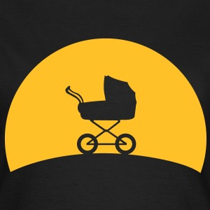 Kinderwagen im Sonnenuntergang Shirt for Girls - Frauen T-Shirt