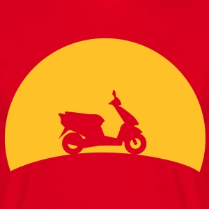 Scooters in the sunset  T-Shirts - Men's T-Shirt