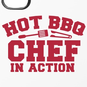 HOT BBQ CHEF IN ACTION!! with tongs and fork Other - iPhone 4/4s Hard Case