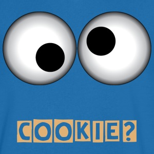 COOKIE - Mannen T-shirt met V-hals