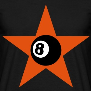 8 ball star Tee shirts - T-shirt Homme