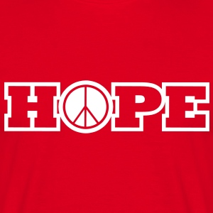 hope of peace T-Shirts - Männer T-Shirt