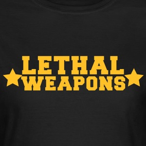 lethal weapons with star  T-Shirts - Women's T-Shirt