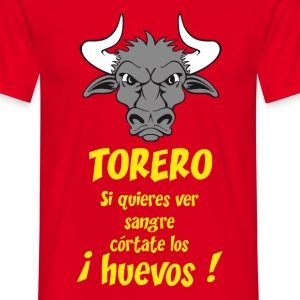 stop corrida 2 Tee shirts - T-shirt Homme