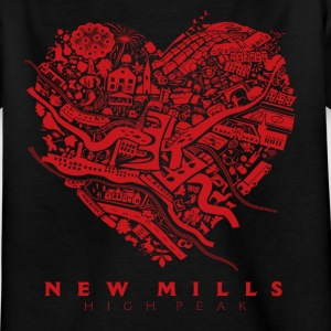 LOVE NEW MILLS Red Shirts - Kids' T-Shirt