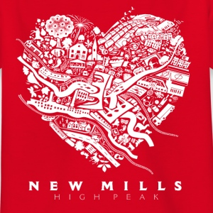 LOVE NEW MILLS White Shirts - Kids' T-Shirt