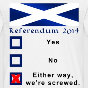 Funny Scottish Referendum 2014 Ballot - Men's T-Shirt