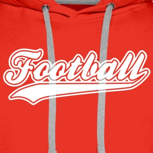football Hoodies & Sweatshirts - Men's Premium Hoodie
