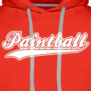 paintball - Sweat-shirt à capuche Premium pour hommes