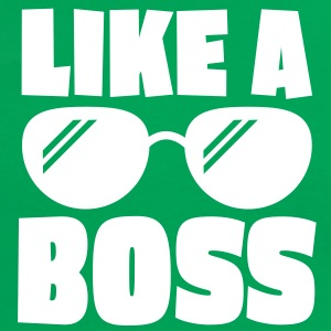 like a boss 1c T-Shirts - Frauen Kontrast-T-Shirt