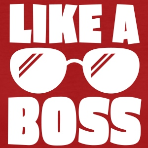 like a boss 1c T-Shirts - Frauen Bio-T-Shirt