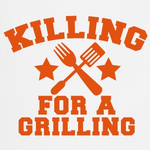 Cook Chef KILLING for a GRILLING MEAT steak BBQ  Aprons - Cooking Apron